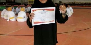 Lita Novita, Pesilat Pagar Nusa yang Sabet Juara 1 Popda Brebes
