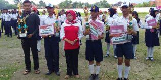 SMPN 2 Brebes Juarai Lomba Tata Upacara Bendera Tingkat Kabupaten