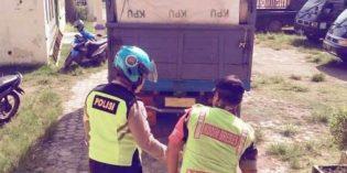 Petugas Gabungan Songgom Kawal Pengembalian Kotak Suara