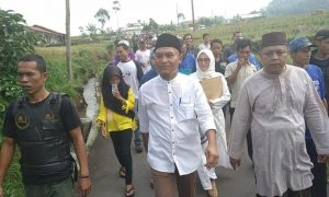 Pilkades Serempak di Paguyangan ; Wartawan Online Ikut Nyalon