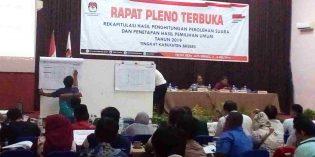 Penghitungan Suara Tingkat Kabupaten Selesai, PDIP jadi Mayoritas di DPRD Brebes