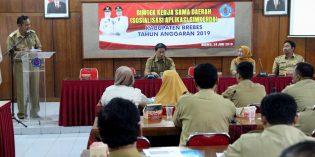 Upaya Pahami Drfat Kerjasama Daerah, Pemkab Adakan Bintek 'Simkerda'