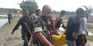 Lelaki Pikun Ditemukan Tewas di Tambak Desa Grinting