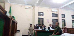 Sidang Lanjutan Pelawak Nurul Qomar ; Saksi Dodi Bantah Buat SKL Palsu