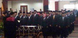 47 Anggota DPRD Brebes Dilantik, 3 Menyusul