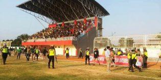 Perdelapan Liga 3 Jateng, Suporter Persip dan Persab Diwarnai Kericuhan