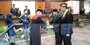 Akhirnya Ketua dan Pimpinan DPRD Brebes Terbentuk