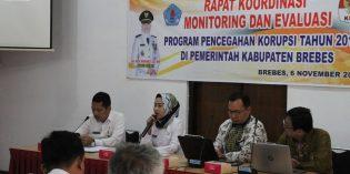 KPK ke Brebes, Idza : Pemkab Komitmen Berantas Korupsi