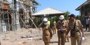 Akhir Tahun, Idza  Monitoring  Pembangunan Aula Islamik Center dan Makam Syeh Juned