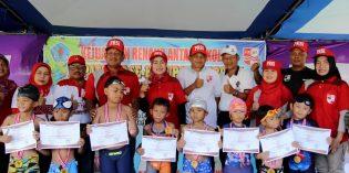 PRSI  Gelar Kejuaraan Renang Tingkat Pelajar Bupati Cup 2019
