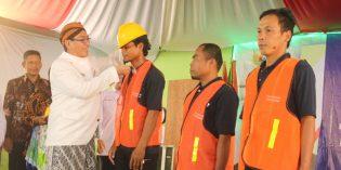 Baznas Fasilitasi 278 Tukang di Brebes Ikuti Sertifikasi Tenaga Kontruksi