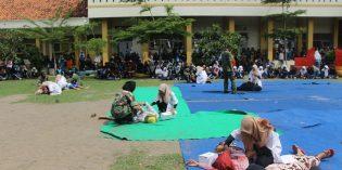 Sosiodrama Terorisme Warnai Peringatan Dies Natalis ke 29 SMAN 1 Larangan