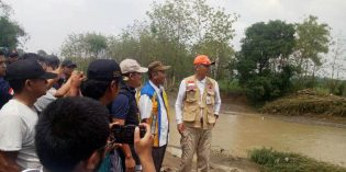 BBWS Cimanuk Cisanggarung : Perbaikan Tanggul Tak Selasaikan Banjir Ketanggungan