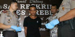 Pemuda di Songgom Bacok Sepupu Gegara Ditolak Minta Rokok