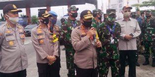 H-3,  4.722  Kendaraan Arus Mudik ke Arah Jateng Berhasil Disekat