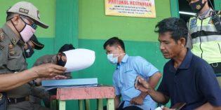 Operasi Yustisi Covid19 di Brebes Jaring 75 Warga Tak Bermasker