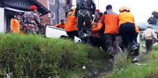 150 Personel Latgab Gulbencal Erupsi Gunung Slamet
