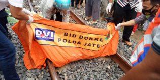 Petani di Tanjung Tewas Tertabrak Kereta Api Barang