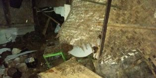 Longsor Tebing di Terlaya Bantarkawung, 2 Rumah Rusak, 1 Terancam