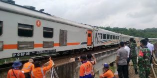 Rekayasa Arus KA Jakarta – SBY Mulai Diberlakukan di Stasiun Bumiayu