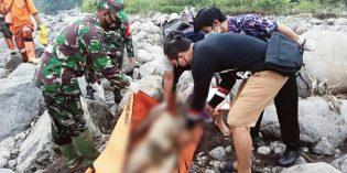 Jenazah Perempuan Membusuk Ditemukan di Aliran Sungai Pedes Tonjong