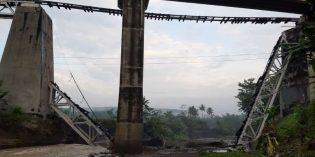 Pemerintah Pusat Siap Bangun Jembatan KA yang Roboh  di Tonjong