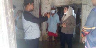 Mitha Bantu Uang Perbaikan 2 RTLH Korban Banjir di Ketanggungan