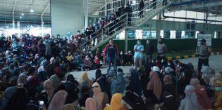 Diberi THR Rp. 50 ribu, Ratusan Buruh Pabrik Aksesoris Sepatu Mogok Kerja