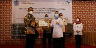 Antisipasi Peredaran Obat Pertanian Palsu, Pemkab Brebes MoU dengan CropLife Indonesia