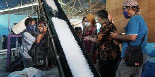 Program PUGAR Berhasil, Brebes Kirim Garam ke Kalimantan