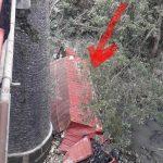 Truk Tronton Terjun ke Sungai di Tonjong, Sopirnya Tewas