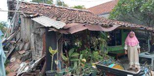 Miris ! Rumah Nyaris Ambruk, Namun  Belum Tersentuh Bantuan RTLH